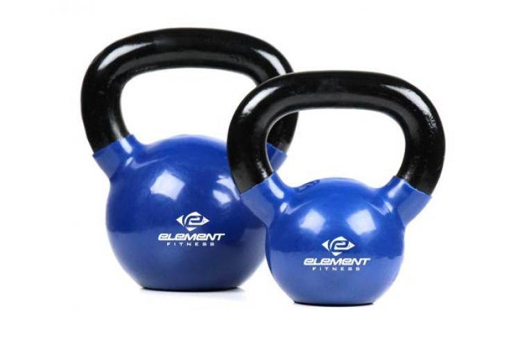 Element Fitness Vinyl Kettlebells