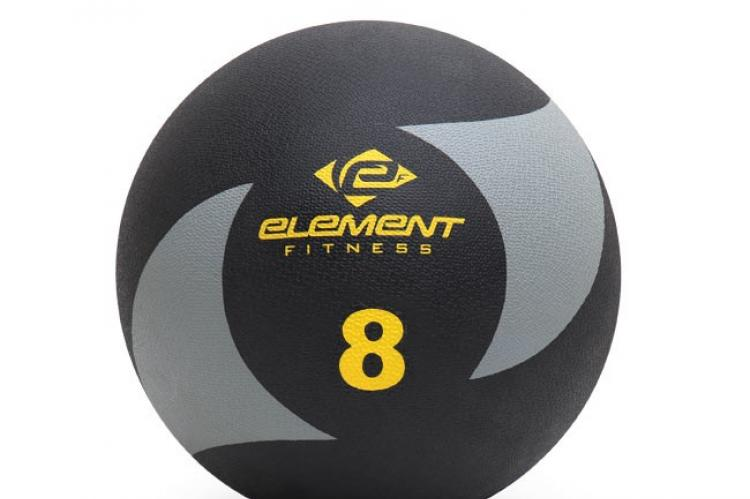 Element Fitness Commercial 8lbs Medicine Ball