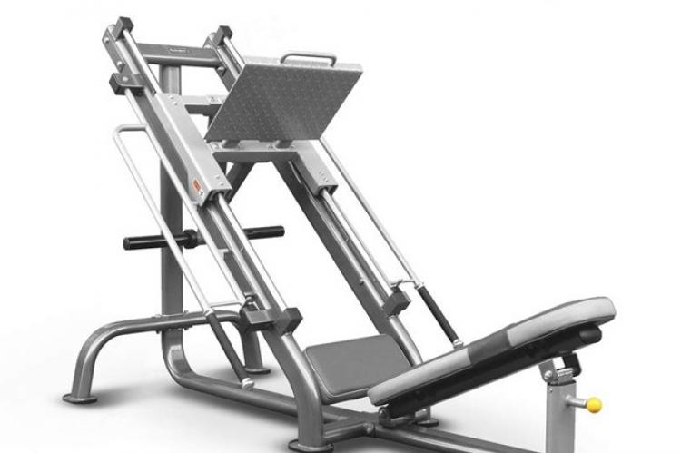 Element Fitness Commercial Leg Press Plate Loaded