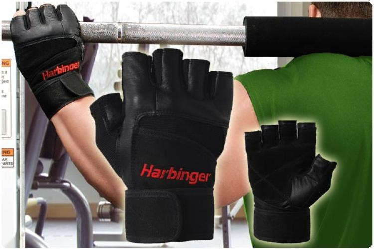 Harbinger Pro WristWrap® Weight Lifting Glove (Mens)