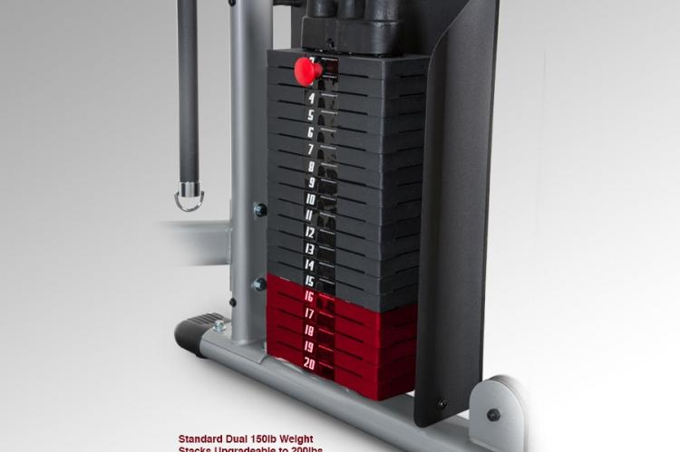 HFT Functional Trainer Weight Stack