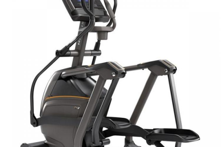 Matrix E50 Elliptical Trainer with XR console showing back view