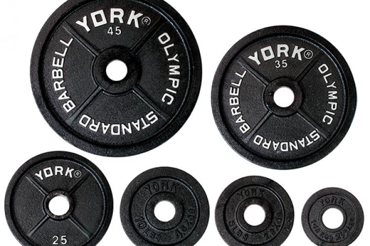 York Standard Olympic Weight Plate