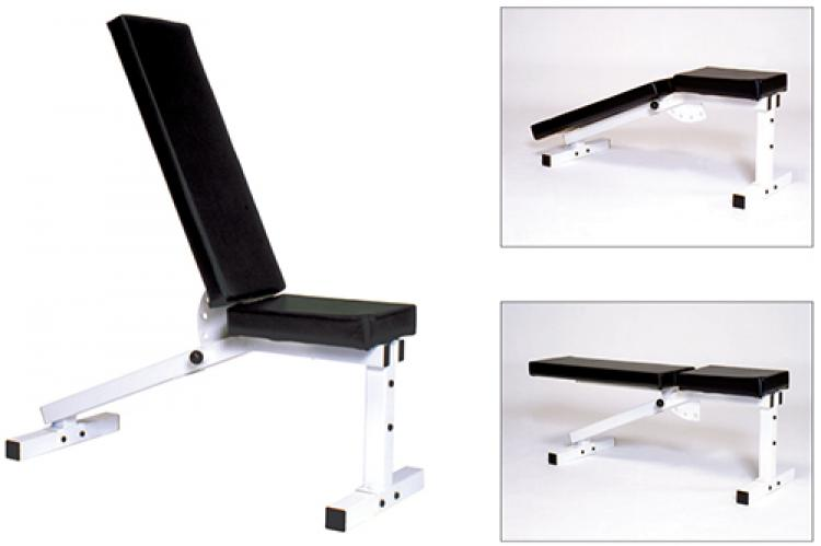 York Barbell 205 Flat-To-Incline Bench